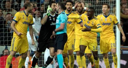 """Buffon, furia contro l'arbitro: """"Non ha capito un c..."""""""
