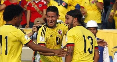 Colombia, i 35 pre-convocati per il Mondiale: ci sono Cuadrado e i due Zapata