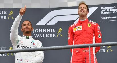 """F1 Belgio, Hamilton: """"Oggi non potevo fare di più"""""""