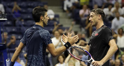 Tennis, Us Open: Djokovic quarto semifinalista