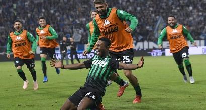 Serie A: il Sassuolo batte la Spal