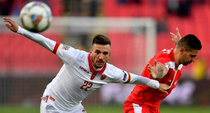 Nations League: Serbia ok nel derby con Montenegro, la Svezia manda in C la Turchia
