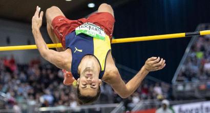 Alto, Tamberi show: salta 2.32, seconda misura mondiale dell'anno