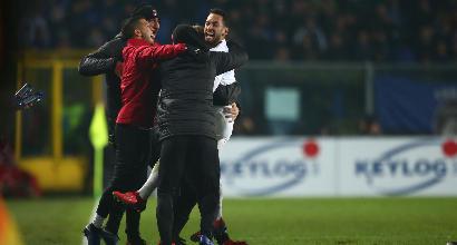 """Milan, Gattuso: """"Grandissima partita, fortunati a segnare prima dell'intervallo"""""""