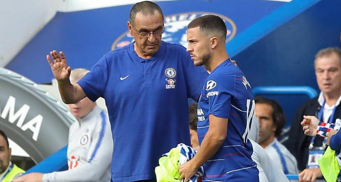 """Chelsea, Sarri: """"Pochi cento milioni per Hazard"""""""