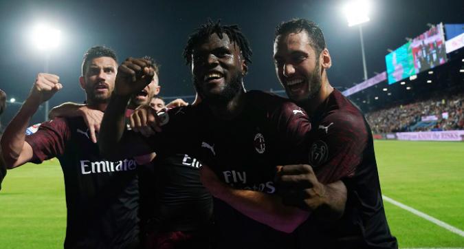 Spal-Milan 2-3: rossoneri quinti