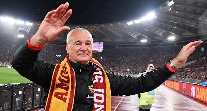 Roma, Pallotta saluta Ranieri