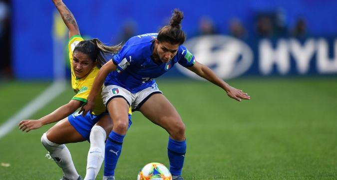 Mondiali femminili, Italia-Brasile 0-1: Marta nella storia, ma le Azzurre vincono il girone