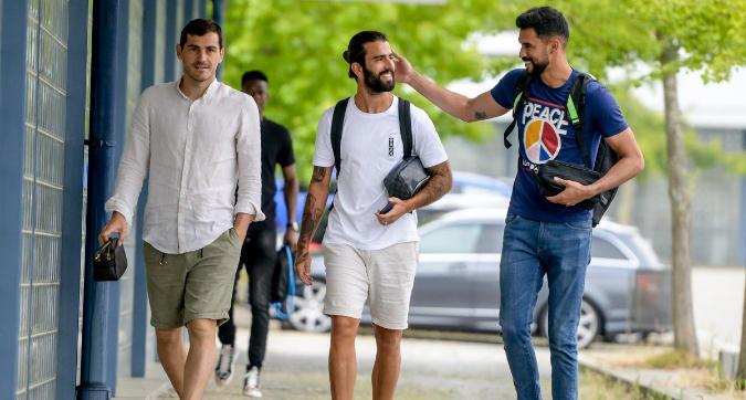 Porto, Casillas torna ad allenarsi dopo il problema al cuore