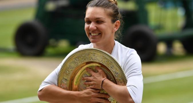 Tennis, Wimbledon: la regina è Halep, Serena Williams schiantata in due set