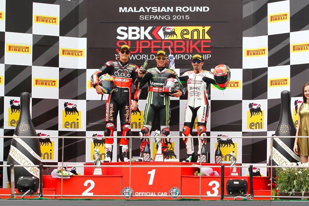 Superbike: Max Biaggi centra un podio da sogno a Sepang