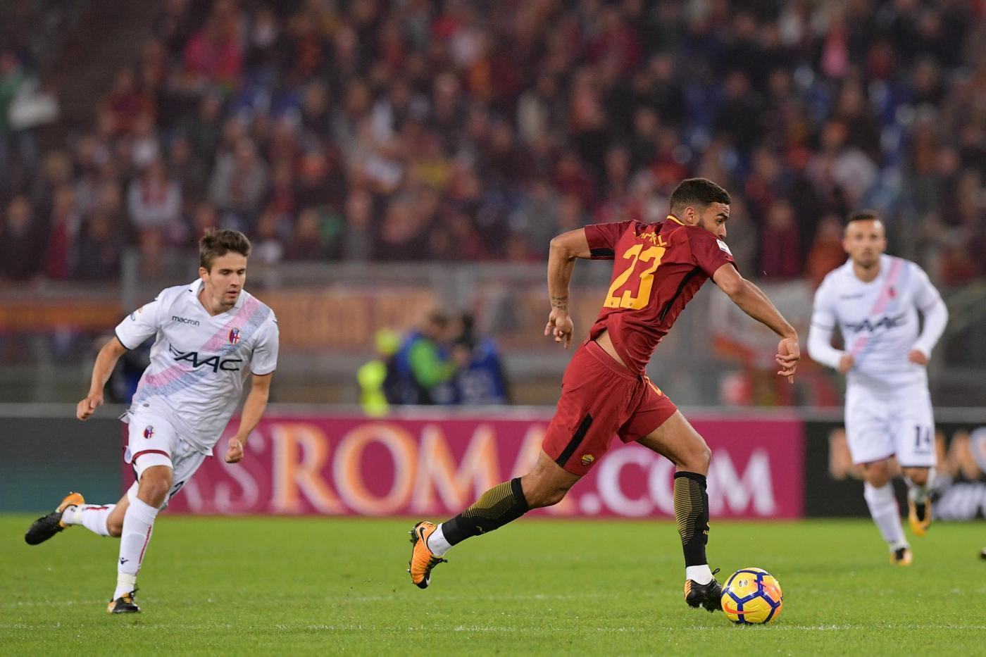Serie A, Roma-Bologna 1-0