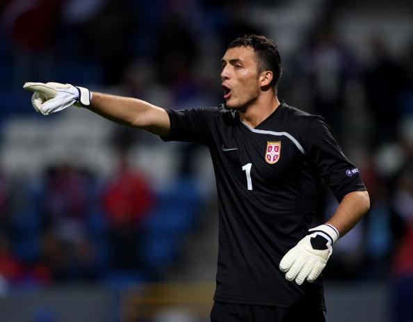 Il portiere Zeljko Brkic, 32 anni: ultima esperienza nel 2018 al Paok, in Italia ha giocato con Siena, Udinese, Cagliari e Carpi