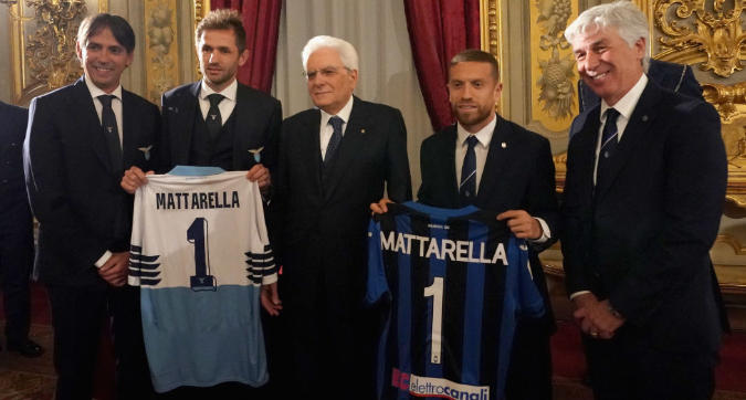 Coppa Italia, Lazio e Atalanta da Mattarella