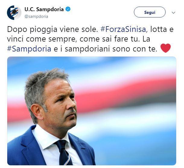 Numerosi i messaggi di vicinanza e incoraggiamento (da parte degli sportivi e delle società ma non solo) nei confronti dell'allenatore del Bologna che...