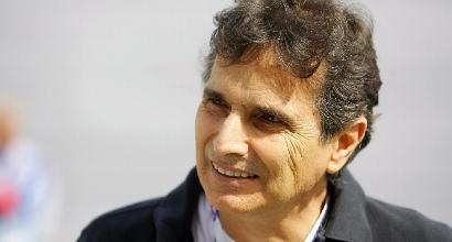 Nelson Piquet, Foto LaPresse