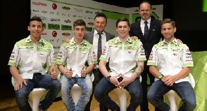 Il team Gresini 2014