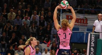 Volley, A1 femminile: super Casalmaggiore, primo stop per Novara