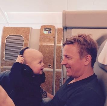 F1, Raikkonen tenero papà