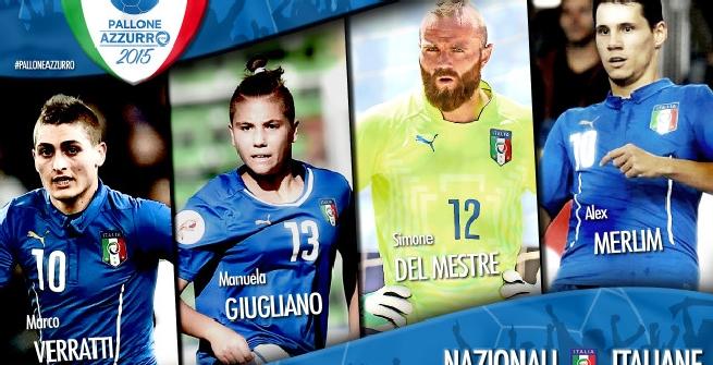 Pallone Azzurro 2015: vince Verratti