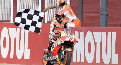 MotoGP, le pagelle dell'Argentina: tre a Iannone che fa un regalo a Rossi