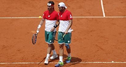 Coppa Davis: Italia ko nel doppio, l'Argentina è ancora viva