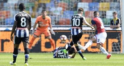 Udinese-Genoa, foto Lapresse