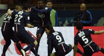Coppa di Francia: Psg in finale