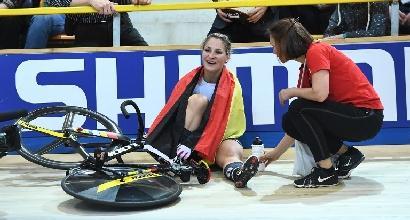 Ciclismo: grave l'olimpionica Vogel, operata alla spina dorsale