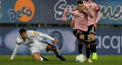Serie B, Palermo-Salernitana 1-2: Casasola gela il Barbera al 93'