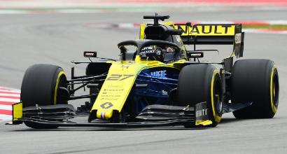 F1, test Montmelò: lampo Hulkenberg, Leclerc dietro le Mercedes