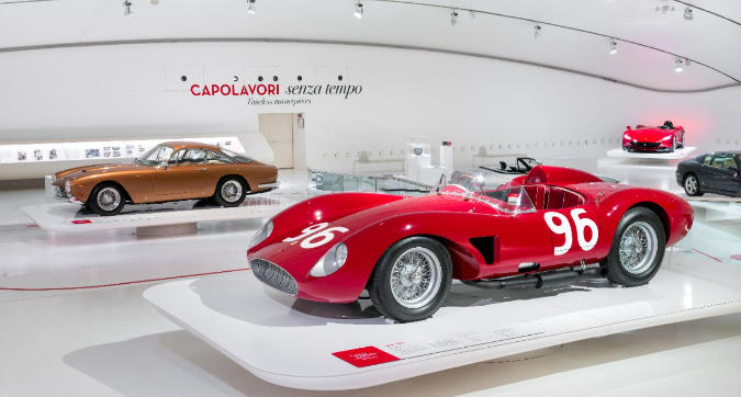 Ferrari, Capolavori senza tempo