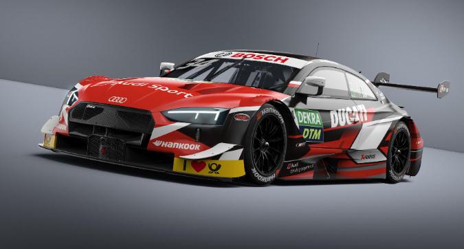 DTM, Dovizioso svela la sua Audi Rs5 per Misano