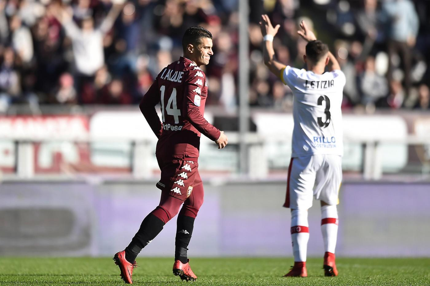 Serie A: il Torino dà 3 sberle al Benevento