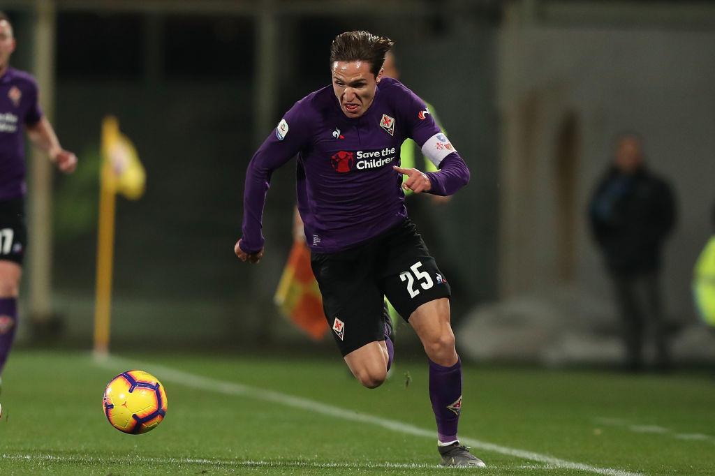 21) Federico Chiesa (Fiorentina): un dribbling ogni 33.3 minuti, percentuale di realizzazione del 48%