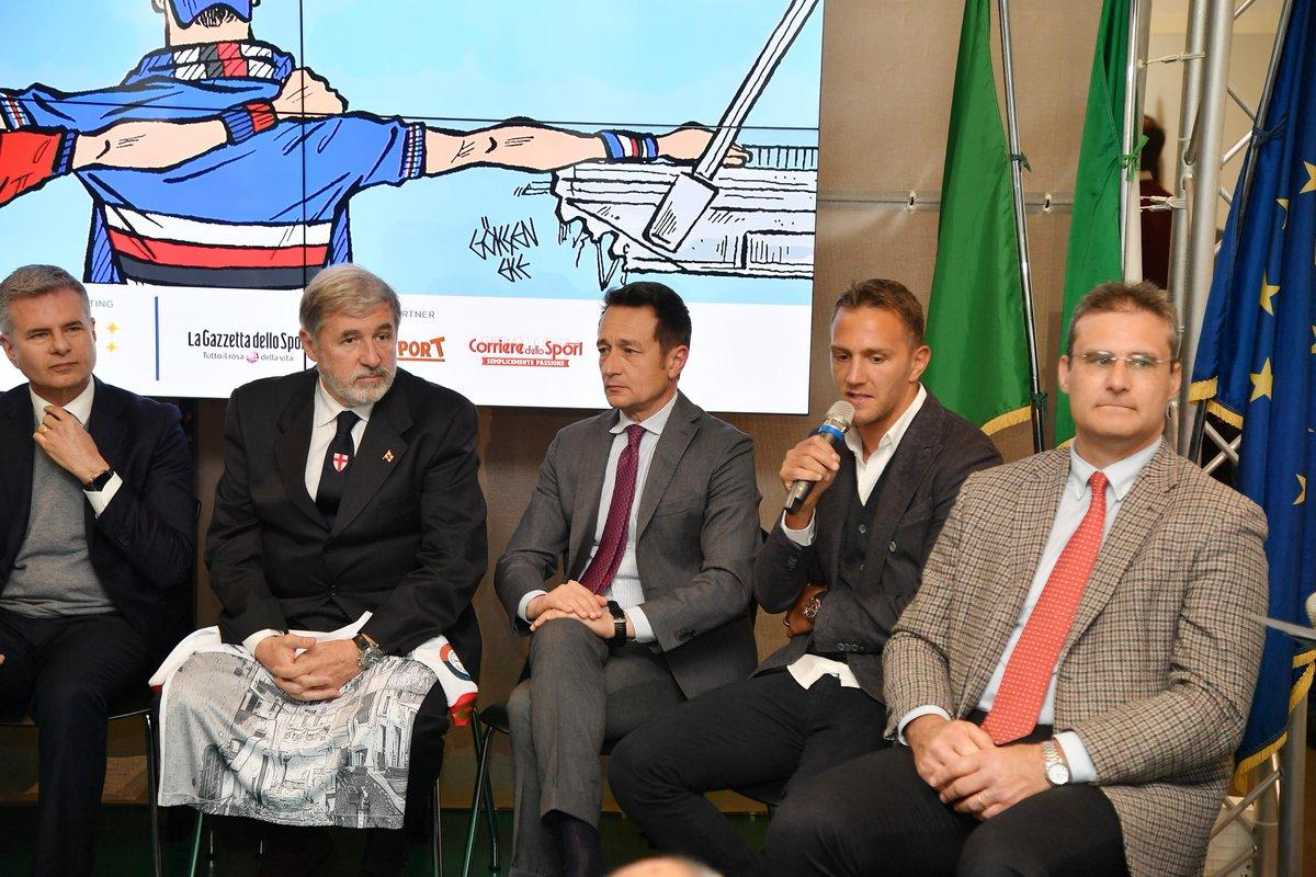 Genoa e Sampdoria insieme, in un'unica squadra e sotto un'unica bandiera, per raccogliere fondi da destinare alle aziende e alle attività commerciali ...
