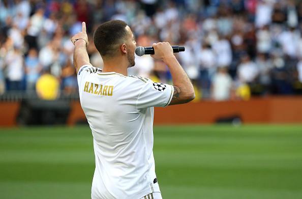 Il Real Madrid ha presentato Eden Hazard, pagato 100 milioni di euro al Chelsea: