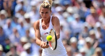 Wimbledon: eliminata Camila Giorgi, passa la Riske