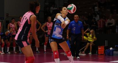 Volley, A1 femminile: Pomì corsara, Bergamo al palo