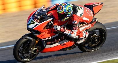 Superbike, Davies e la Ducati dominano i test di Portimao