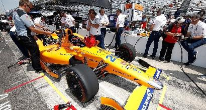 Indy 500, Alonso super: 4° nelle libere