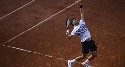 Roland Garros: la pioggia ferma Nadal e Djokovic