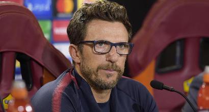 """Roma, Di Francesco: """"Nainggolan non convocato, comportamento inaccettabile"""""""
