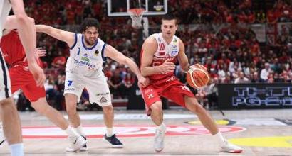 Basket Serie A: Brescia fa il colpaccio, Milano ko al Forum
