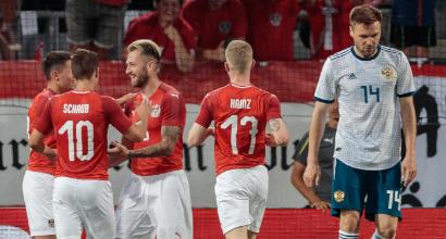 Amichevoli pre-mondiali: Austria-Russia 1-0, brutta sconfitta per i padroni di casa