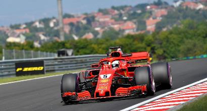 F1, Vettel domina le Libere 3