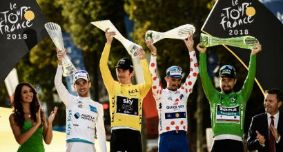 Rubato il trofeo del Tour de France