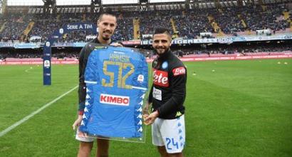 Napoli, Hamsik da record: premio per le 512 presenze