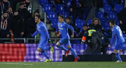 Coppa del Re, andata quarti di finale: Getafe-Valencia 1-0