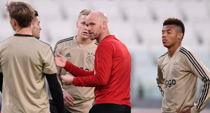 """Ajax, Ten Hag: """"Vogliamo fare la partita col Tottenham, siamo affamati"""""""